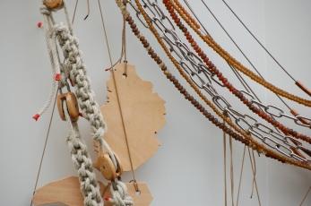 Le poids des chaînes, sculpture - commande publique - commémoration de l'abolition de l'esclavage et de la traite négrière - 2010