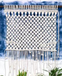 Macramé ou l'art de créer avec des noeuds, éditions Marabout - 2016