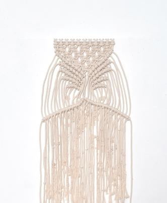Cordeau de coton, branche • 28x100 cm